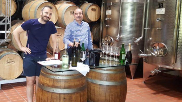 Filippo Dori und Marcello Squarise vom Weingut Domus Vini