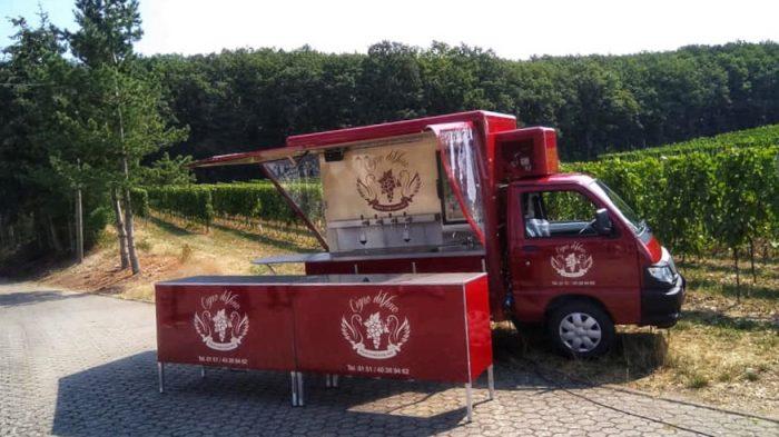 Das Cigno diVino Weinmobil
