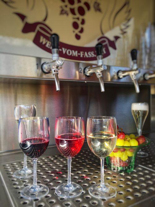 Das Cigno diVino Weinangebot - Merlot, Rosato, Chardonnay und Frizzante